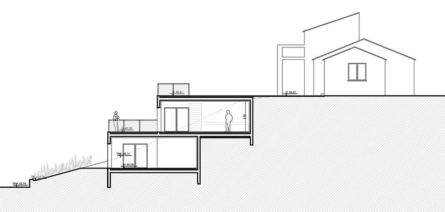 extension d 39 une villa cavalaire nm architecture. Black Bedroom Furniture Sets. Home Design Ideas